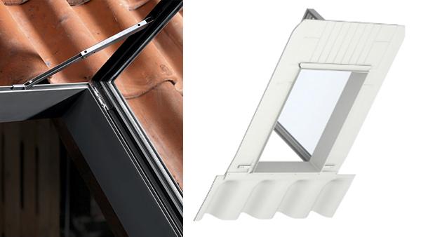 Iesire pe acoperis Velux - model GVT Braila si Tulcea